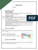 Silueta textual Guía de aprendizaje