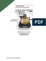 Informe No.4 Determinación de Limite liquido y Limite plástico de los suelos