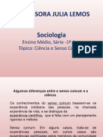 1 ANO- SOCIOLOGIA -Ciência e senso comum.pptx