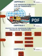 1. PROYECTOS DE INVERSION PUBLICO Y PRIVADO DE TRANSPORTE