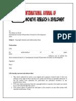 Author Declaration Form