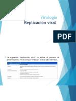 replicación del virus
