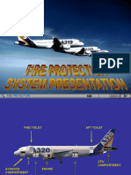 FIRE PROTECTION SYSTEM air bus 320