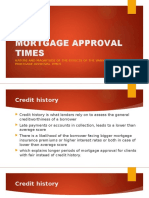 Mortgage Approval Times