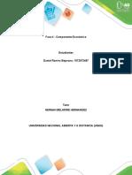 Fase 4 - Componente económico