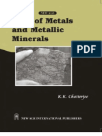 Uses of Metals and Metallic Minerals