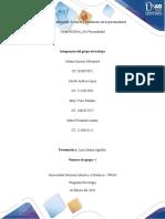 fase 3_ Clasificación, Factores y tendencias de la personalidad._ grupo 4
