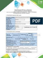 Guía de actividades y rúbrica de evaluación- Tarea 1- Principios de Mejoramiento Genético Animal