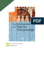David Álvarez Cineira-La formación del Nuevo Testamento