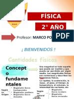 FÍSICA 2° - CANTIDADES FÍSICAS I (8)