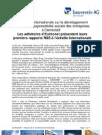 Compte-rendu de la Conference de Darmstadt sur la RSE (23/06/2009)