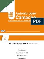 Presentacion  SEGUROS DE CARGA MARITIMA.pptx