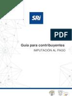Guía para el contribuyente - Imputación al Pago-1