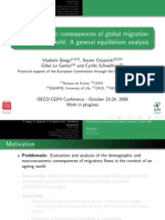 Macro Economic Consequences of Global Migration
