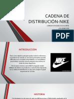 CADENA DE DISTRIBUCIÓN-NIKE
