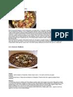 3 Juhe, špageti, sočiva, lazanje,pašticade i drugo