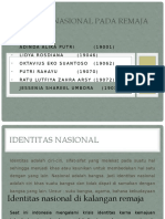 Identitas nasional pada remaja PPT