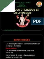 Farmacologia de Los Hipolipemiantes