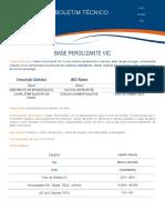 Base Perolizante VIC