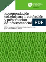 CONFECCIÓN Y PRESENTACIÓN DE INFORMES SOCIALES
