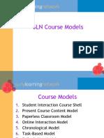 SLN Course Models