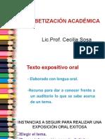 Alfabetización Académica