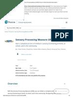 Sensory Processing Measure (SPM) _ Pearson Clinical Australia & New Zealand