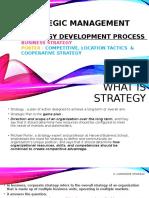 Strategies- SM
