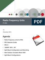 2 IP-20G Radio Frequency Units