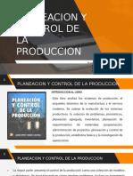 4 Planeacion y control de la produccion