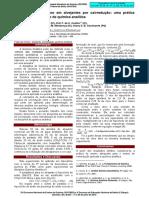Determinação de cloro em alvejantes por oxirredução