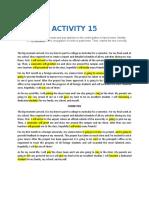 ACTIVITY-15