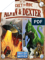 Ticket to Ride Alvin and Dexter - Rules (2011)