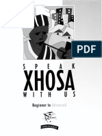 Speaking Xhosa With Us (1998)