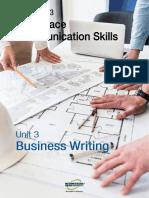 Workplace Communication Skills U3