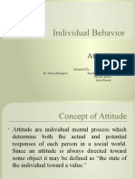 Chapter 2 Individual Behaviour- Attitude.pptx