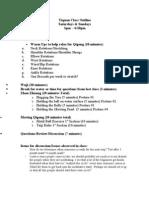 Yiquan Curriculum1