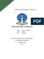 TUGAS II_ESPA.4314_ADITYA YUDISTIRA_030764676