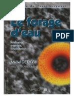 Detay-Foragedeau-Chapitre3-Realisationdunforage