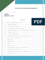 Richiami Di Statistica e Calcolo Delle Probabilità
