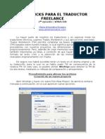 Tips&Tricks Para El Traductor Freelance-2