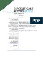 WHO Newsletter 6 - Pharmaceuticals