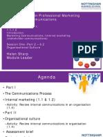 Session 1 2017-18 - CIM IC