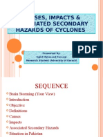 Causes, Impacts & Associated Secondary Hazards