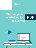 Clio Complete Guide to Working Remotely as a Lawyer