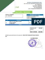 Facture SP nylon