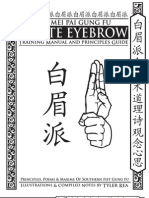 Bak Mei Kung Fu Manual