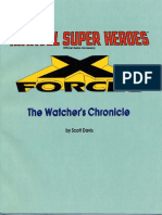 6905 - MHR1 - X-Forces - The Watcher's Chronicle
