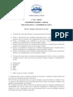 Ficha de Exercícios 2 – Contabilidade de Custos I PDF