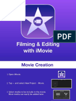 Filming and Editing with iMovie